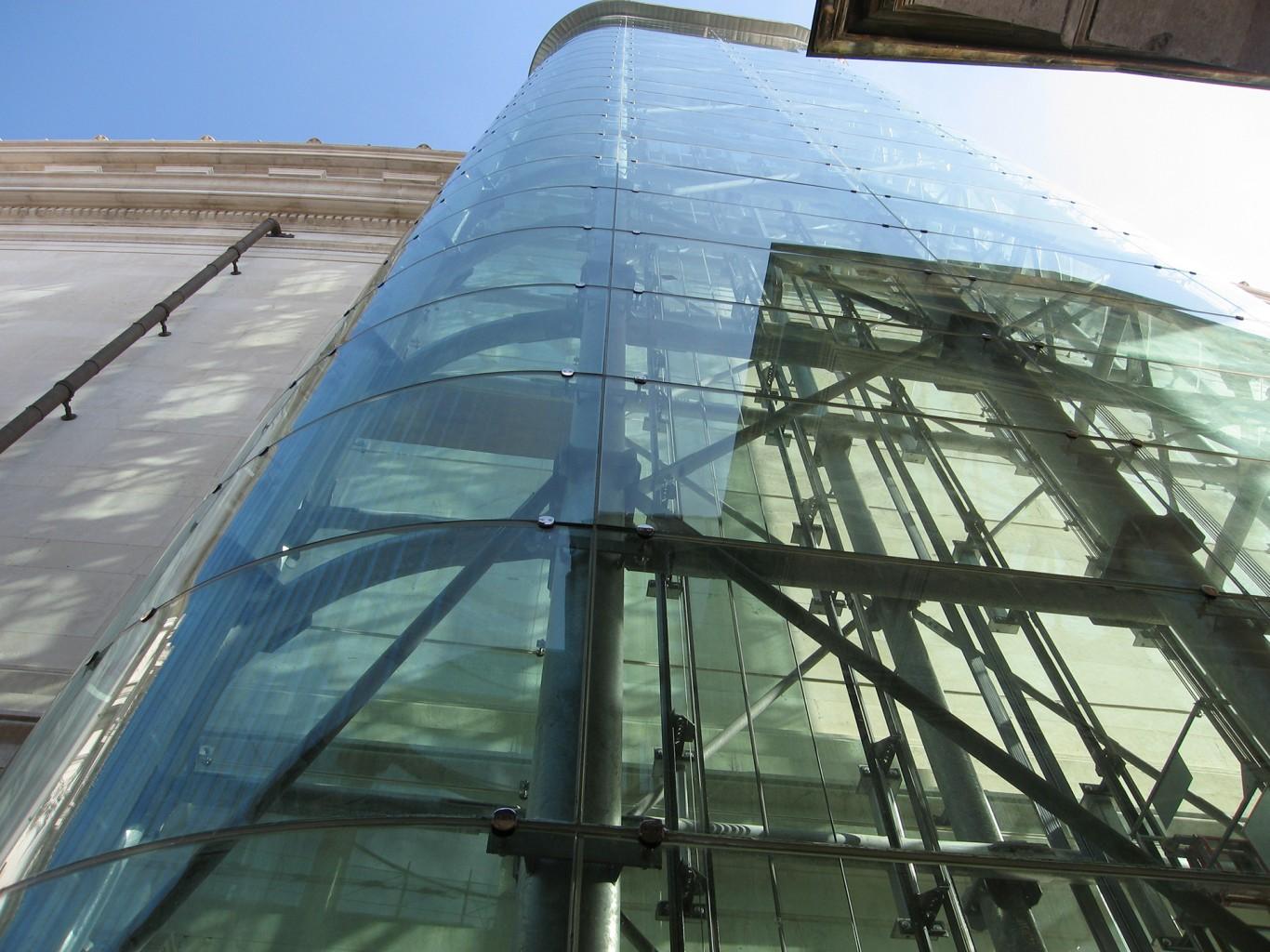 Roma dal cielo dalla Terrazza delle Quadrighe | CRICURSA Curved Glass